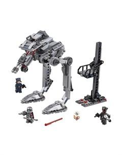 Конструктор Star Wars Вездеход AT ST Первого Ордена Lego