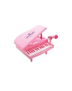 Музыкальный инструмент Синтезатор Волшебный рояль с микрофоном Mary poppins