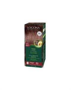 Растительная краска для волос 100 мл Logona