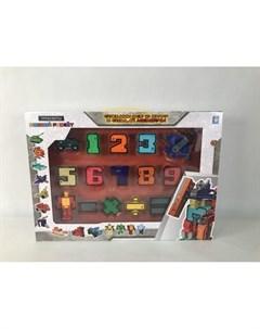 Игровой набор Трансботы Боевой расчет 1toy