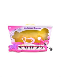 Музыкальный инструмент Синтезатор Little Star 37 клавиш Наша игрушка