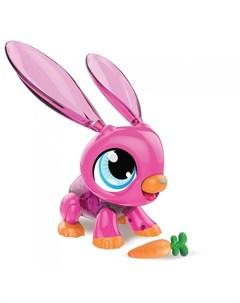 Интерактивная игрушка РобоЛайф Кролик с аксессуаром 1toy