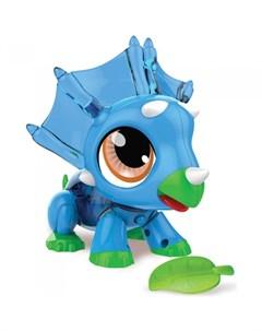 Интерактивная игрушка РобоЛайф Динозаврик с аксессуаром 1toy