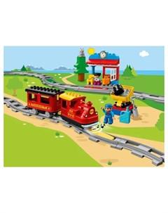 Конструктор Duplo Поезд на паровой тяге Lego