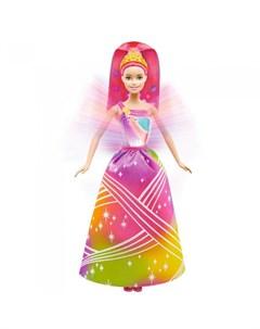 Радужная принцесса Барби с волшебными волосами Barbie