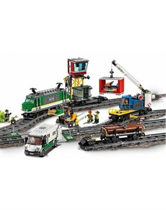 Конструктор City 60198 Лего Город Товарный поезд Lego
