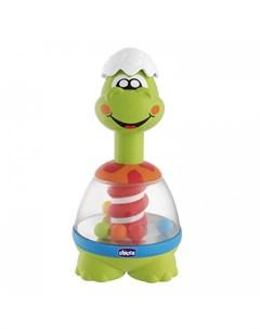 Развивающая игрушка Юла Spin Dino Chicco