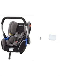 Автокресло F300K с вкладышем для новорожденного в детское автокресло АвтоБра Sparco