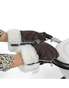 Муфта рукавички для коляски Double White Esspero