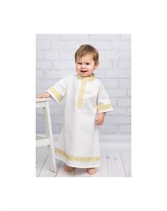 Крестильная рубашка Русская традиция 18 013 Alivia kids