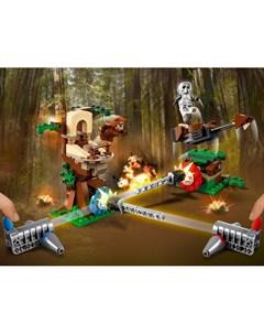 Конструктор Star Wars TM Нападение на планету Эндор Lego