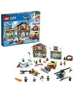 Конструктор City Town 60203 Горнолыжный курорт Lego