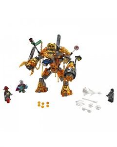 Конструктор Super Heroes 76128 Лего Супер Герои Бой с расплавленным человеком Lego