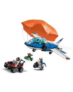 Конструктор City 60208 Police Воздушная полиция арест парашютиста Lego