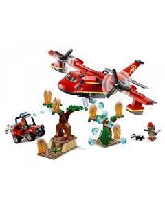 Конструктор City 60217 Fire Пожарный самолёт Lego