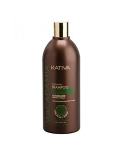 Macadamia Интенсивно увлажняющий шампунь для нормальных и поврежденных волос 500 мл Kativa