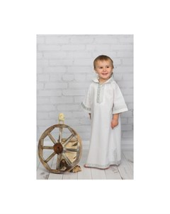 Крестильная рубашка Русская традиция 18 011 Alivia kids
