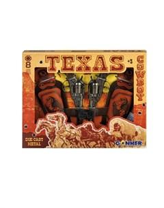Игрушечное оружие Техасский Ковбой на 8 пистонов Gonher