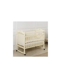 Детская кроватка Sofi с сердечком без ящика колесо качалка Incanto