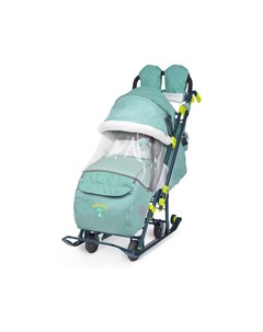 Санки коляска комбинированные НД7 3 светоотражающие элементы Nika