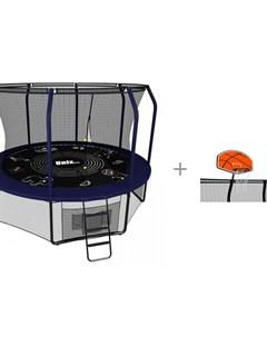 Батут Supreme Game 305 см 10 ft с баскетбольным щитом Supreme Unix line