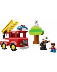 Конструктор Duplo 10901 Town Пожарная машина 21 деталь Lego