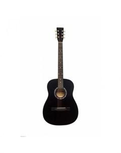 Музыкальный инструмент Акустическая Гитара TF 380A BK Terris