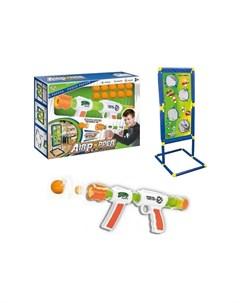 Street Battle игрушечное оружие с мягкими шариками стенд с мишенями 1toy