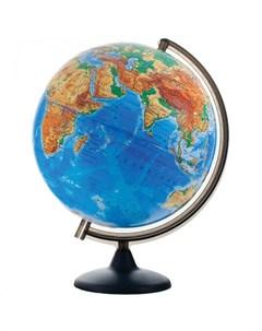 Глобус физический рельефный 32 см Глобусный мир