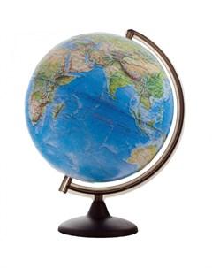 Глобус рельефный ландшафтный 32 см Глобусный мир