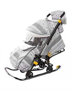 Санки коляска Snow Galaxy Luxe R-toys