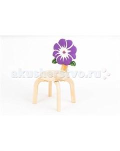 Детский стульчик Цветочек Анютины глазки Polli tolli
