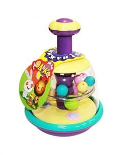 Развивающая игрушка Юла Юлька пастельные цвета Биплант