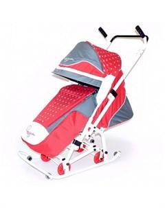Санки коляска Скользяшки Мозаика R-toys