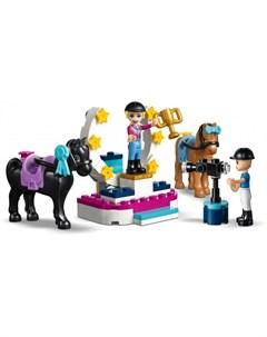 Конструктор Friends 41367 Соревнования по конкуру Lego