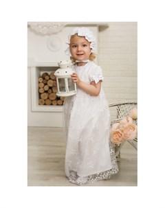 Крестильный набор для девочки Нежность 15 254 10 Alivia kids