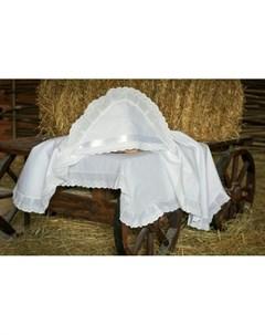 Крестильная пеленка Воздушное шитье 100х100 12 804 10 Alivia kids