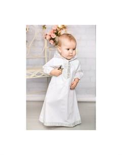 Крестильная рубашка Русская традиция 18 060 Alivia kids