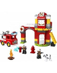 Конструктор Duplo 10903 Town Пожарное депо Lego