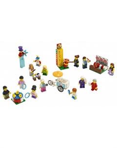 Конструктор City Town Комплект минифигурок Весёлая ярмарка Lego