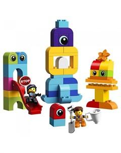 Конструктор Duplo 10895 Movie 2 Пришельцы с планеты Duplo Lego