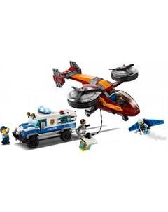 Конструктор City 60209 Police Воздушная полиция кража бриллиантов Lego