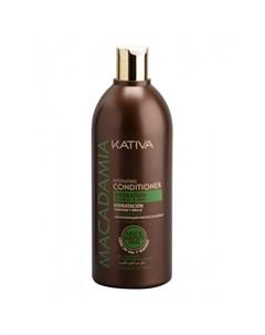 Macadamia Интенсивно увлажняющий кондиционер для нормальных и поврежденных волос 500 мл Kativa