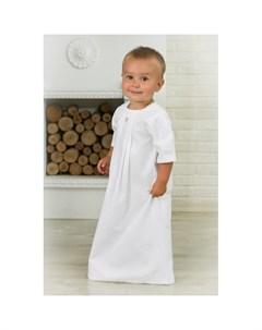 Крестильная рубашка Жаккардовый хлопок 18 006 13 Alivia kids