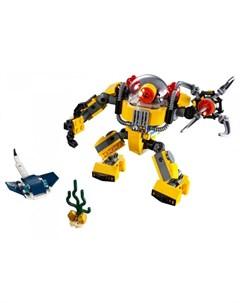 Конструктор Creator 31090 Робот для подводных исследований Lego