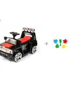 Электромобиль Hummer ZPV 003 и Пластмастер Набор формочек Морские друзья Barty