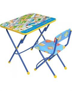 Набор мебели стол парта пластиковый стул Nika