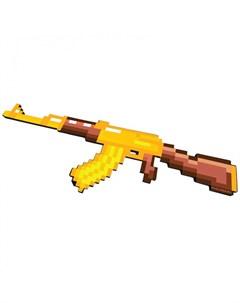 Игрушечное оружие Автомат АК 47 8 Бит пиксельный 68 см Pixel crew