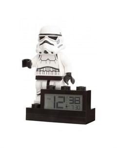 Часы Будильник Star Wars 9004032 Лего Звездные Войны Минифигура Stormtrooper Lego