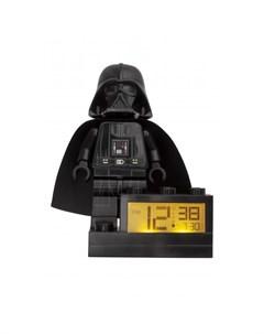 Часы Star Wars Будильник Минифигура Darth Vader 9004049 Lego